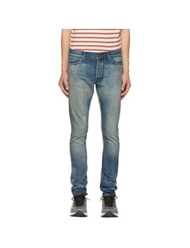 Blue Cast 2 Capital E Jeans by John Elliott
