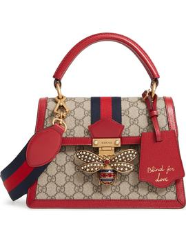 Queen Margaret Gg Top Handle Satchel by Gucci