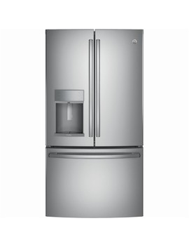 Profile Series 27.8 Cu. Ft. French Door In Door Refrigerator   Stainless Steel by Ge
