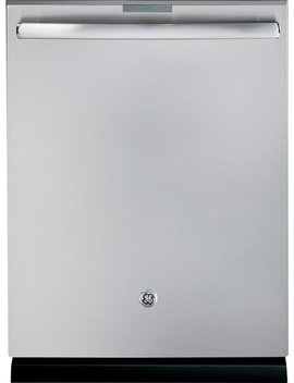 "Profile™ Series 24"" Hidden Control Tall Tub Built In Dishwasher With Stainless Steel Tub   Stainless Steel by Ge"