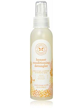 The Honest Company   Conditioning Detangler, Leave In Conditioner And Fortifying Spray   Sweet Orange Vanilla, 4 Fl Oz by Amazon