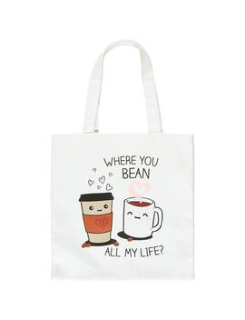 Coffee Graphic Tote Bag by Forever 21