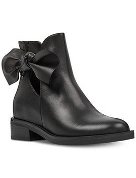 Tinasofa Bow Booties by Nine West