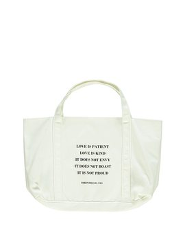 Corinthians Love Tote Bag by Forever 21
