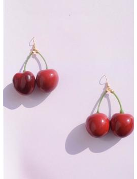 Cherry Earrings by Etsy