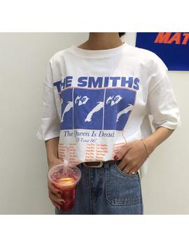 The Smiths T Shirt,The Smiths The Queen Is Dead Us Tour 86 T Shirt by Etsy