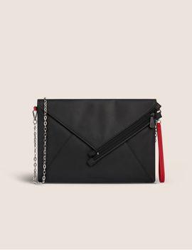 Asymmetrical Envelope Crossbody Cluch by Armani Exchange
