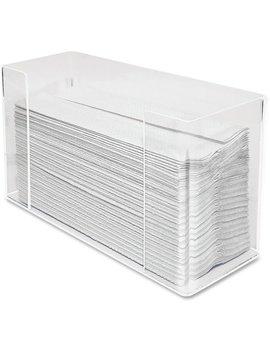 Kantek, Ktkah190, Acrylic C Fold Dispenser, 1 Each, Clear by Kantek