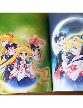 Sailor Moon Original Illustration Art Book Vol.1 1st Edition Pretty Soldier Used by Ebay Seller