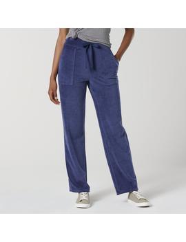 Everlast® Women's Velour Pants by Everlast&Reg;