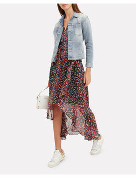Janelle Mojave Denim Jacket by L'agence