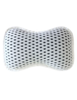 Chill Bath Pillow   White/Black by At Home