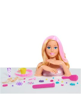 Barbie Color & Style Deluxe Styling Head   Blonde Hair by Barbie