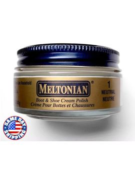 Meltonian Boot And Shoe Cream Polish Neutral #1 1.55 Oz Jar  • Discontinued • by Meltonian
