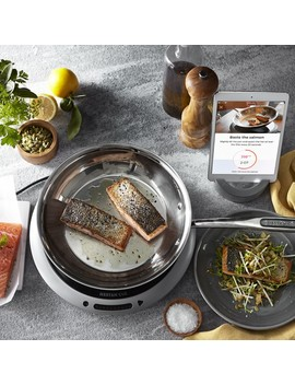 Hestan Cue Smart Induction Burner & Fry Pan by Williams   Sonoma