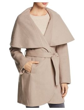 Marla Oversized Shawl Collar Coat by T Tahari
