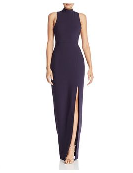 Teigan Mock Neck Gown by Likely