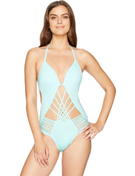 Sexy Solids Push Up One Piece by Kenneth Cole