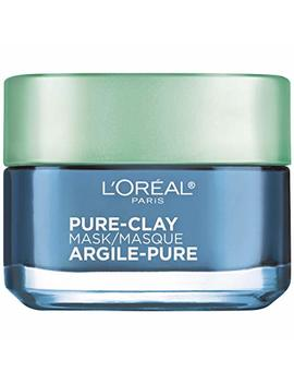 L'oréal Paris Skincare Pure Clay Face Mask With Seaweed For Redness And Imperfections To Clear & Comfort, 1.7 Oz. by L'oreal Paris
