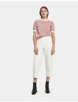 Short Sleeve Striped Sweater by Marni