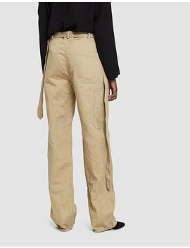 Belted Twill Trouser by Marni