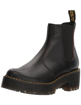 Dr. Martens Women's Rometty Smooth Leather Fashion Boot by Dr.+Martens