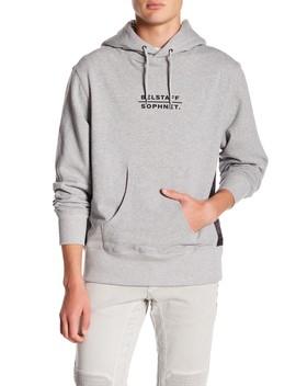 Elmhurst Hooded Graphic Sweatshirt by Belstaff