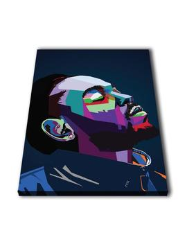 K Dot Kendrick Lamar Duckworth Wpap Canvas Giclee Print Painting Picture Wall Art Split Canvases Home Decorations, Gifts by Etsy