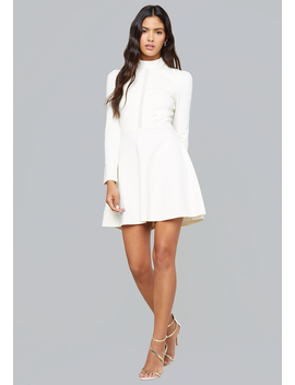 Ponte Fit &Amp; Flare Dress by Bebe