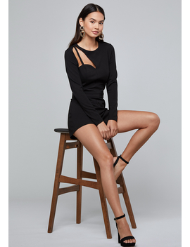 Cutout Romper by Bebe