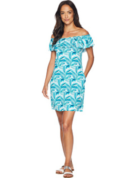 Among Fronds Ruffle Spa Dress Cover Up by Tommy Bahama