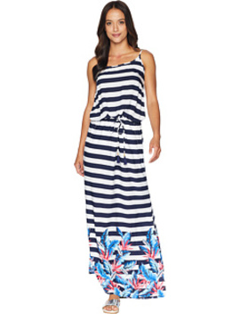 Palms Paradise Off The Shoulder Maxi Dress Cover Up by Tommy Bahama
