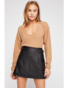 Charli Vegan A Line Skirt by Free People