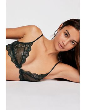 So Fine Sheer Lace Bralette by Free People