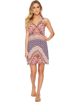 Super Fly Paisley Short Dress Cover Up by Nanette Lepore