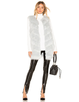 Faux Fur Vest by Kendall + Kylie