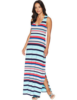 Sporting Stripe Maxi Dress Cover Up by Tommy Bahama