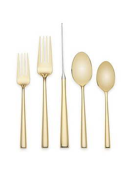 Kate Spade New York Malmo™ Gold 5 Piece Flatware Place Setting by Bed Bath And Beyond