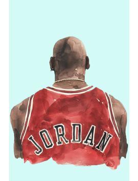 Michael Jordan Basketball Poster, Sport Man Wall Decor Home Decor, Michael Jordan Basketball Print, Michael Jordan Basketball Art by Etsy