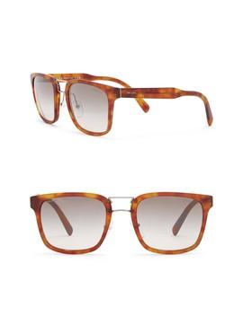 53mm Square Sunglasses by Prada