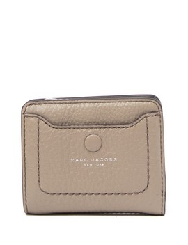 Empire City Mini Compact Leather Coin Wallet by Marc Jacobs