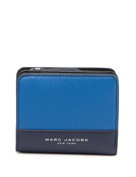 Saffiano Bicolor Slgs Mini Compact Wallet by Marc Jacobs