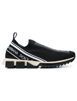 Sorrento Logo Sneakers by Dolce & Gabbana