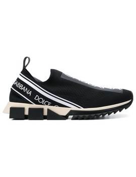 Sorrento Logo Sneakers by Dolce & Gabbana
