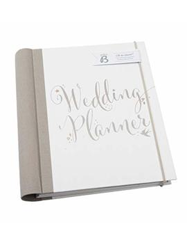 Busy B Bride To B Script Wedding Planner   Perfect Engagement Gift With Checklists, Pockets And An Undated Planning Calendar by Busy B
