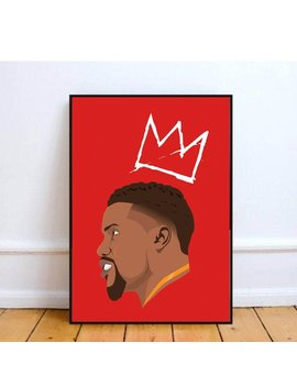 Kevin Hart Poster Print. Side Reference With A Crown. by Etsy