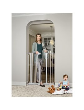 "Regalo Extra Tall Baby Gate, 29"" 40"" With Walk Through Door by Regalo"