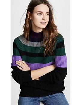 Wool Raglan Boyfriend Sweater by Victoria Victoria Beckham