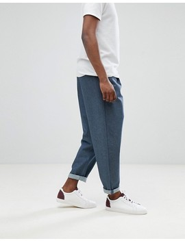 Asos Design Oversized Jeans In Raw Grey by Asos Design