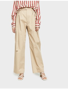 Multi Tuck Chino Pant by Christopher Esber